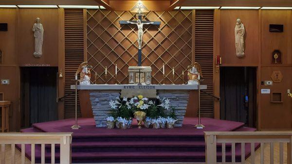 church in kenosha, catholic church kenosha