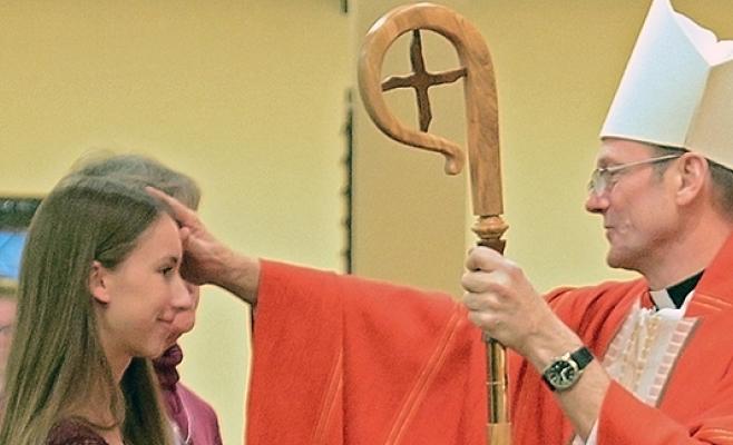 catholic church, confirmation