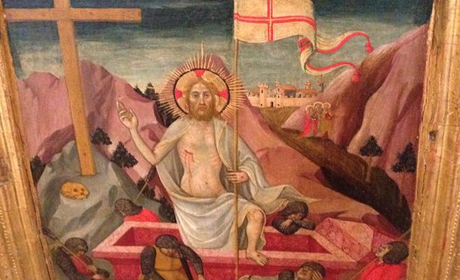 Jesus Conquers Sin/Death & Brings Us Divine Life